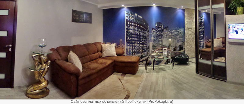 Отличная 2-ая квартира-студия в центре Минска у метро