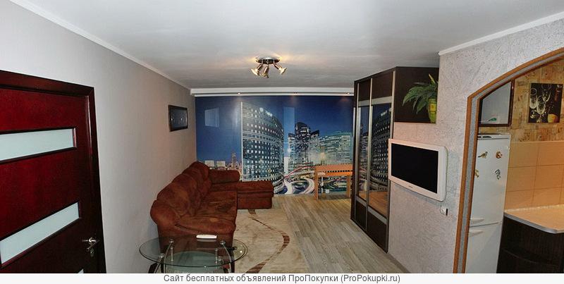 Стильтная 2-ая квартира-студия в центре Минска у метро Московская