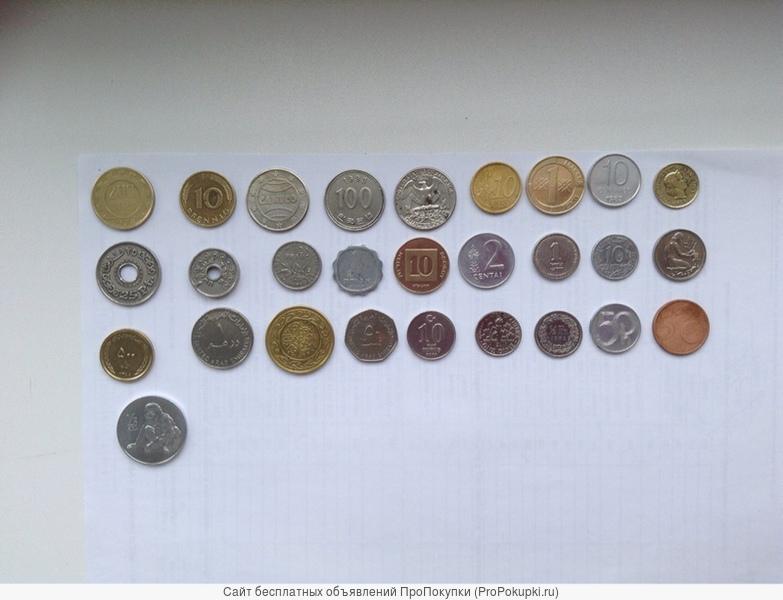 коллекция монет народов мира