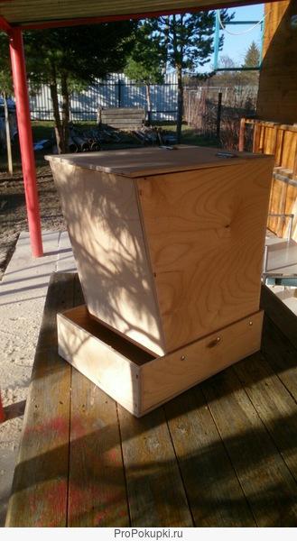 Кормушка бункерная для домашней птицы