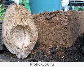 Илово-кокосовые удобряющие субстраты и их производство