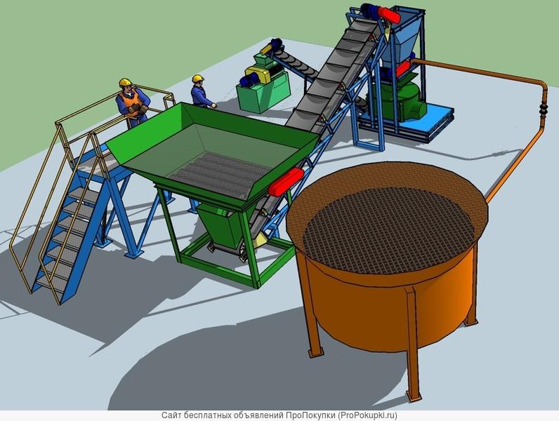 Производство капсульных органо-минеральных удобрений