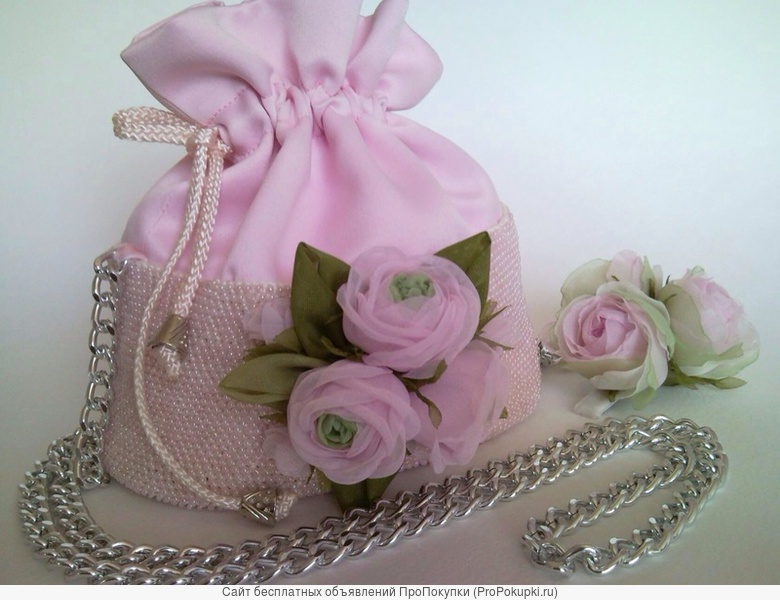 Курс изготовления цветов из ткани