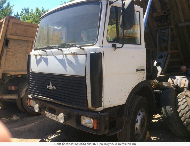 Продается самосвал МАЗ 5516