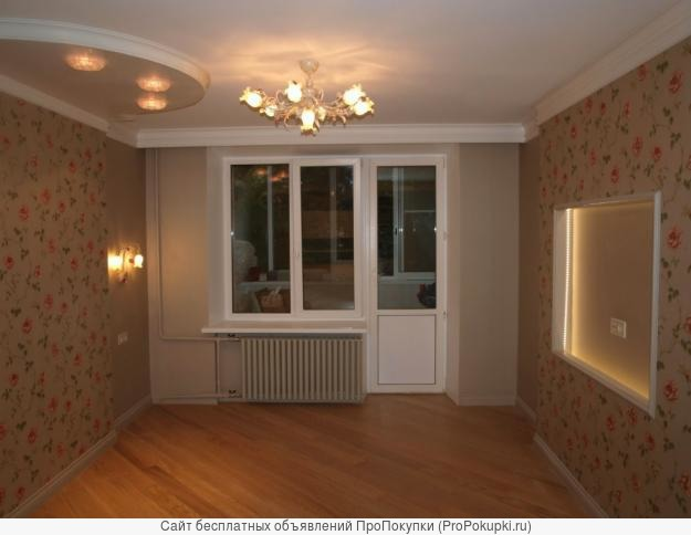 поклейка обоев ремонт квартиры комнаты
