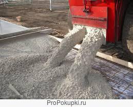 бетон на граните от м100до400