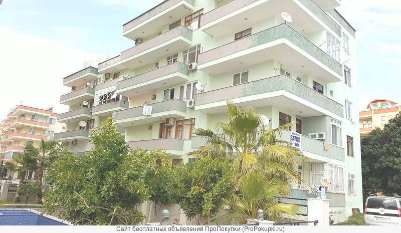 Квартира 2 + 1 с отдельной кухней в Ozyıldız, Махмутлар/Алания, Турция