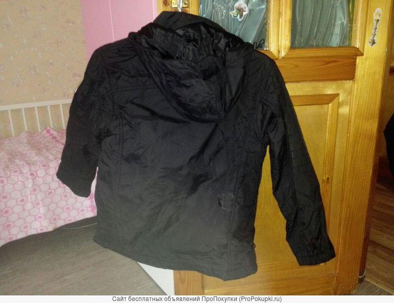 куртка черная мужская осенняя