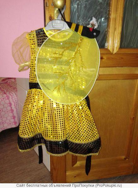 Платье костюм для девочки пчелка