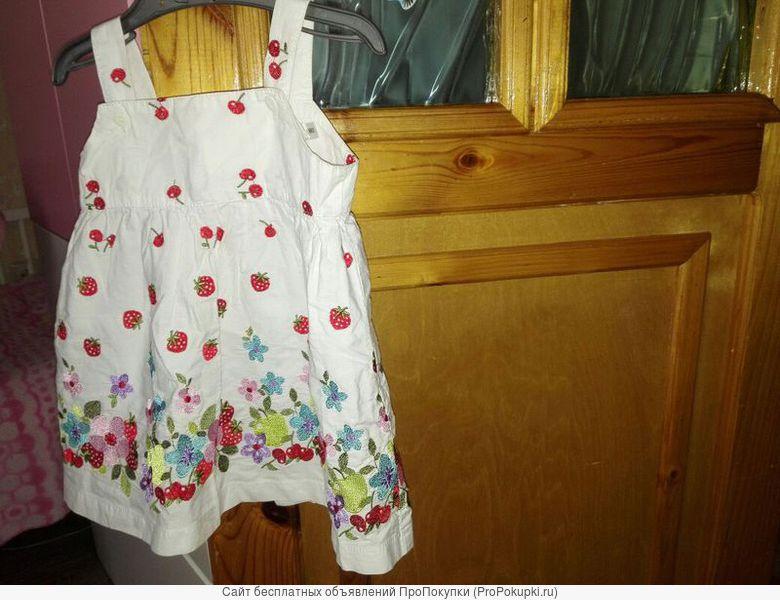 Легкие платье сарафан для девочки