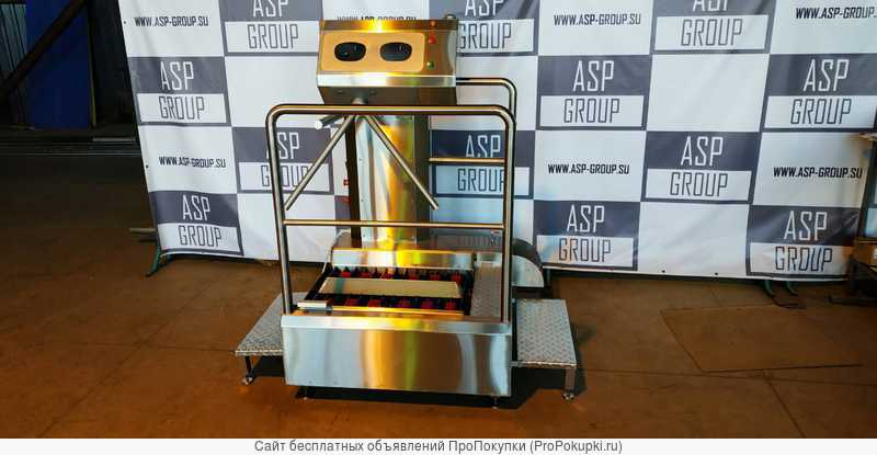 Санпропускник односторонний ASP-HL-03 (эконом)