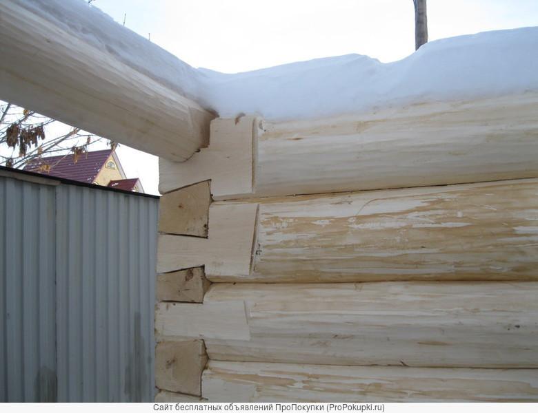Срубы осиновые для бани ,домиков,сараев,конюшен,домов .