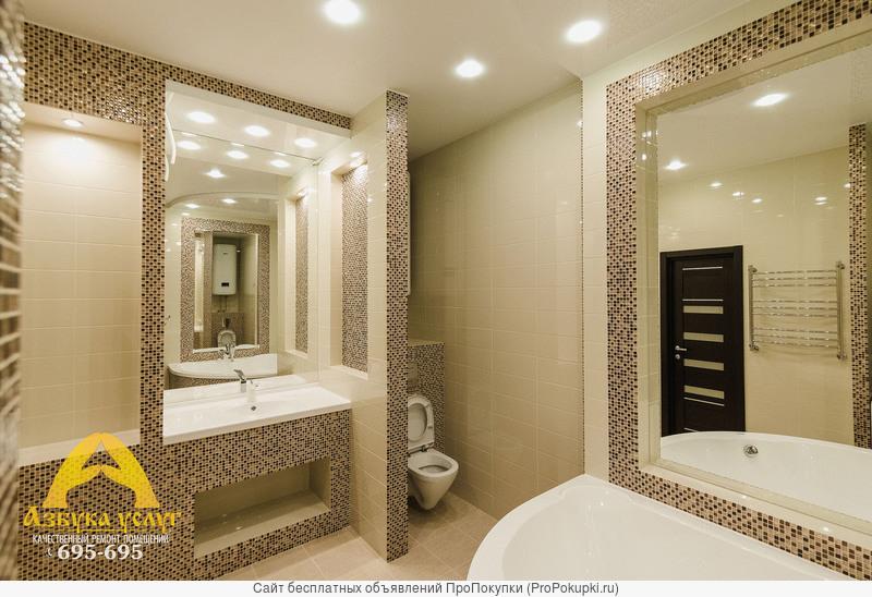 Ремонт ванных комнат в Архангельске