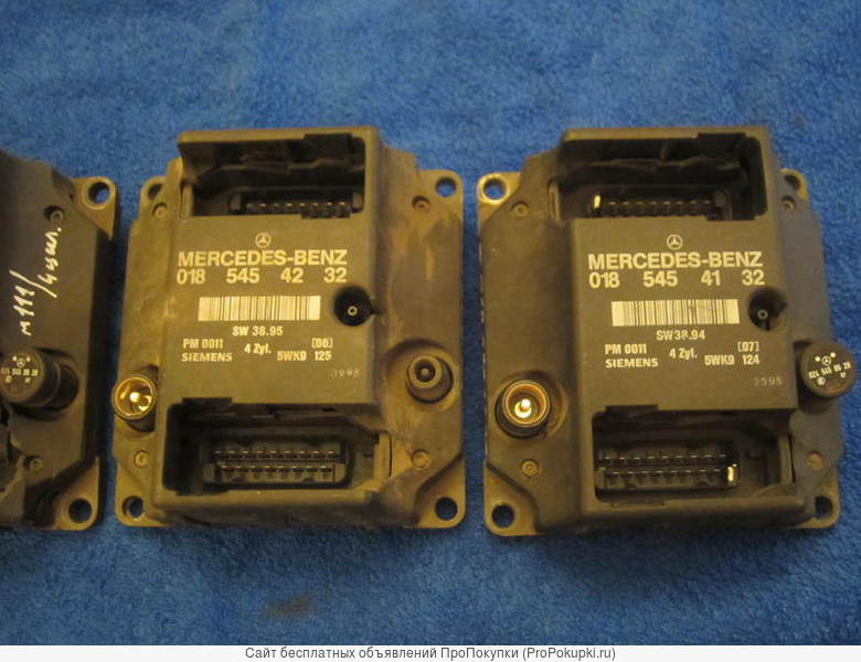 Блок PMS (ПМС) SIEMENS 018 545 41 32 для Мерседес W124; W202