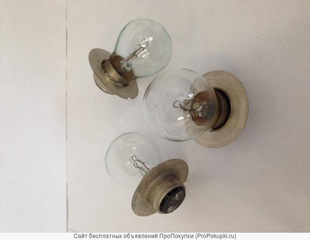 Лампы автомобильные двухконтактные А-12-50+ 21 (тракторные)