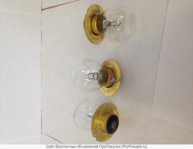 Лампы автомобильные одноконтактные А-12-50+40