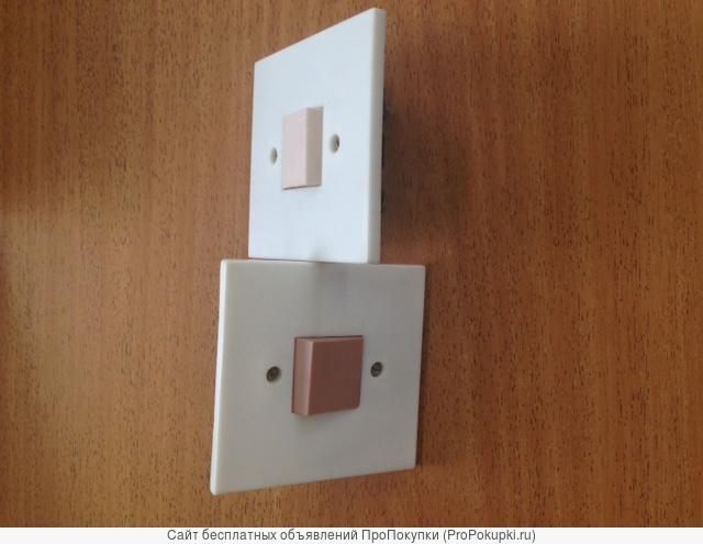 Выключатель 1-клавишный для скрытой установки