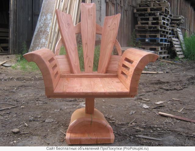 кресло из лиственницы