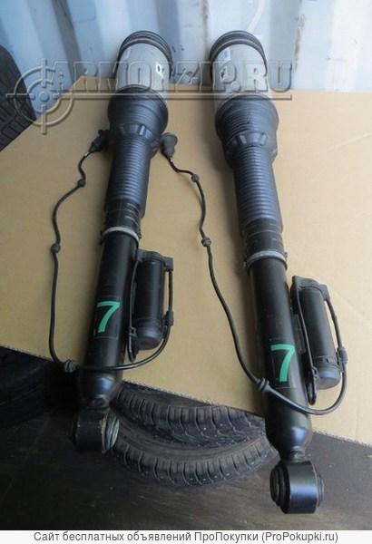 Задние стойки на бронированный Мерседес w220