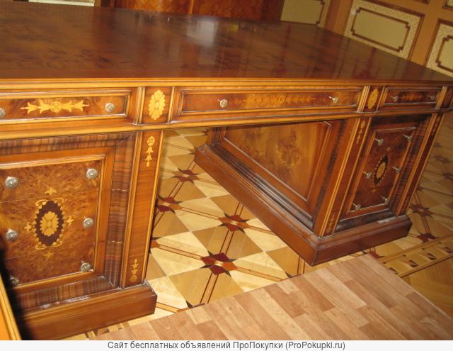 Письменный стол Genoveva Испания модель Президент с инкрустацией
