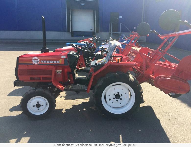 Продам японский мини-трактор Yanmar FB15D
