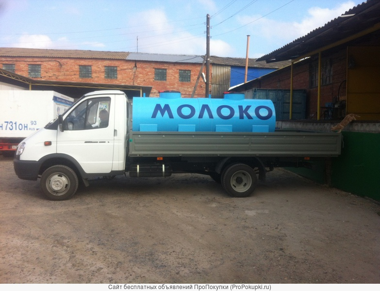 Емкость для перевозки молока 2м3