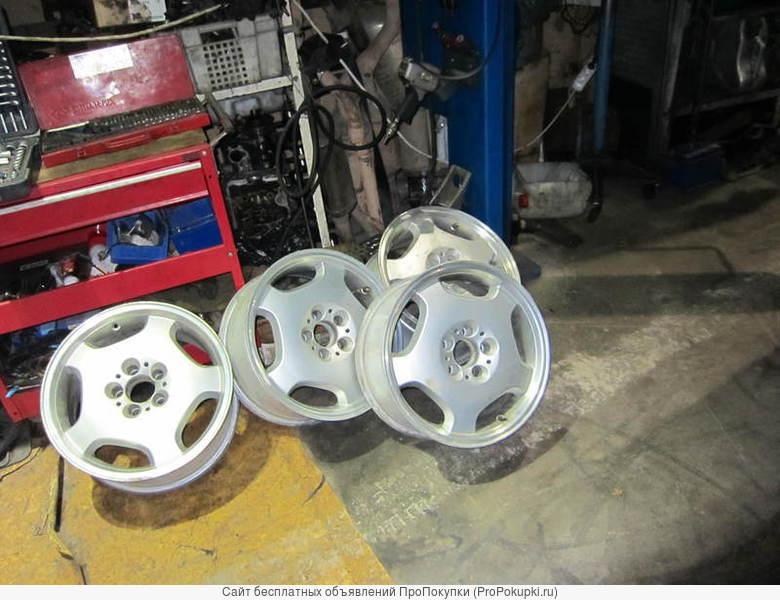 Литые диски R17 х et35 x J8 ( 5 x 112) для Мерседес W210 W124