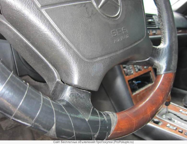 Руль с деревом для Мерседес W124 W140 под реставрацию