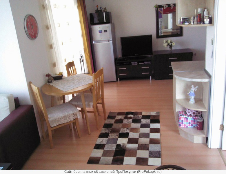 продам студио со спальней в Болгарии на Солнечном Берегу