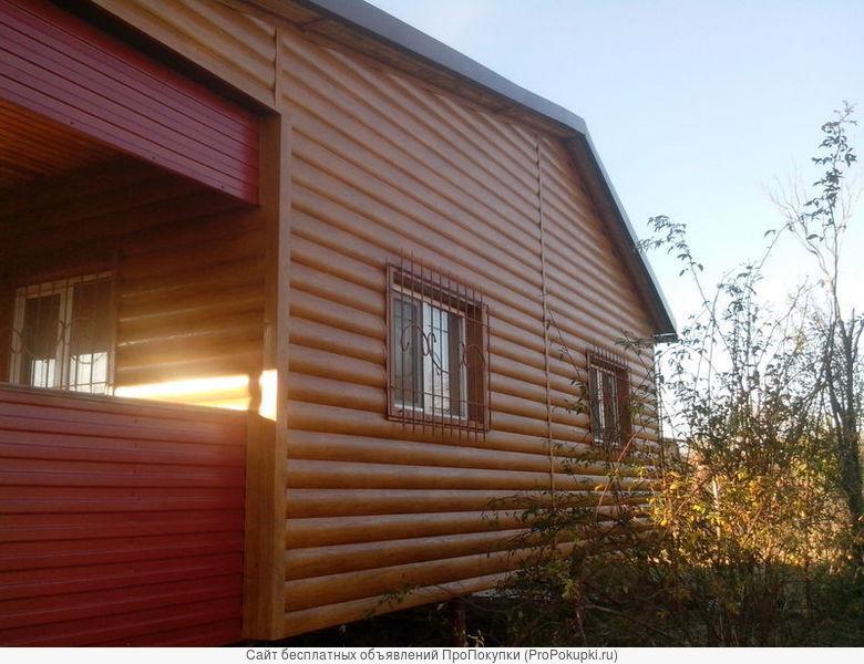 Монтаж сайдинга, утепление фасадов