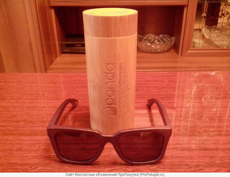 Бамбуковые очки