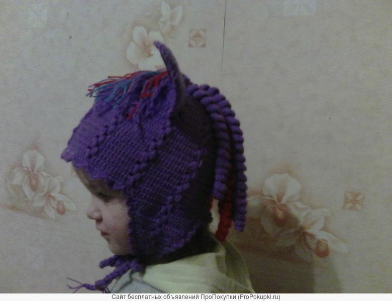 Свяжу шапочки с мордочкой зверей
