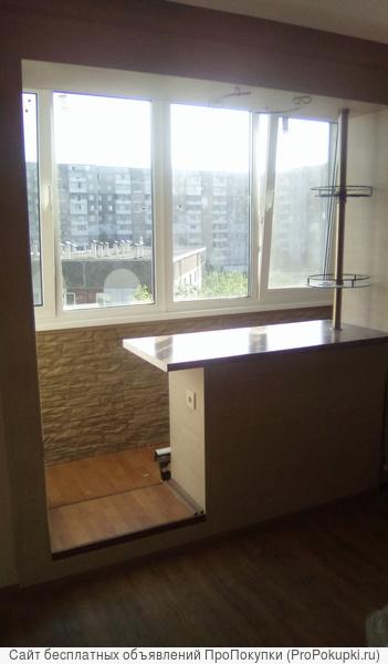 Утепление балкона,лоджии под жилое(система встроенного балкона)