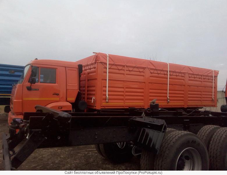 Модель 4590Е3 автомобиль бортовой грузовой (зерновоз)