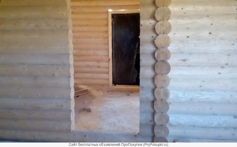 Сруб деревянного дома
