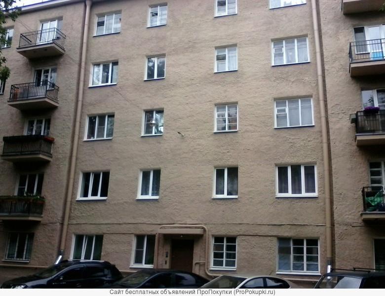 Продаются две комнаты в трехкомнатной квартире