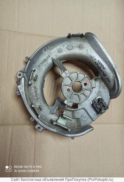 корпус моторчика печки(алюминиевый) на Мерседес W140