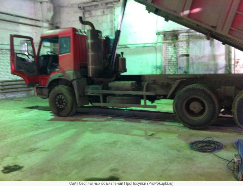 Стоянка для грузового транспорта,строительной техники
