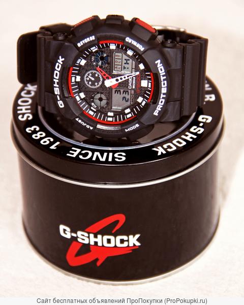 Легендарные часы CASIO G-SHOCK GA-100