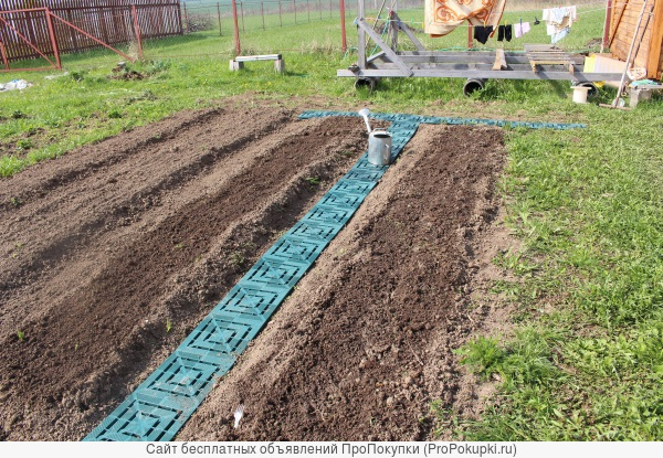Сборные дорожки между грядок для огорода на даче