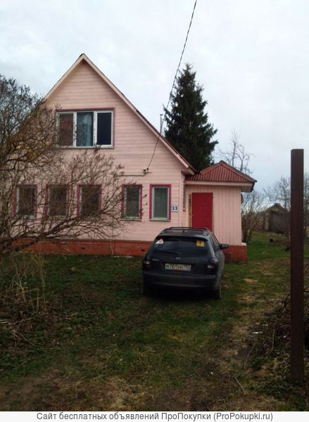 Продаю участок с домом в чисто-экологическом районе МО