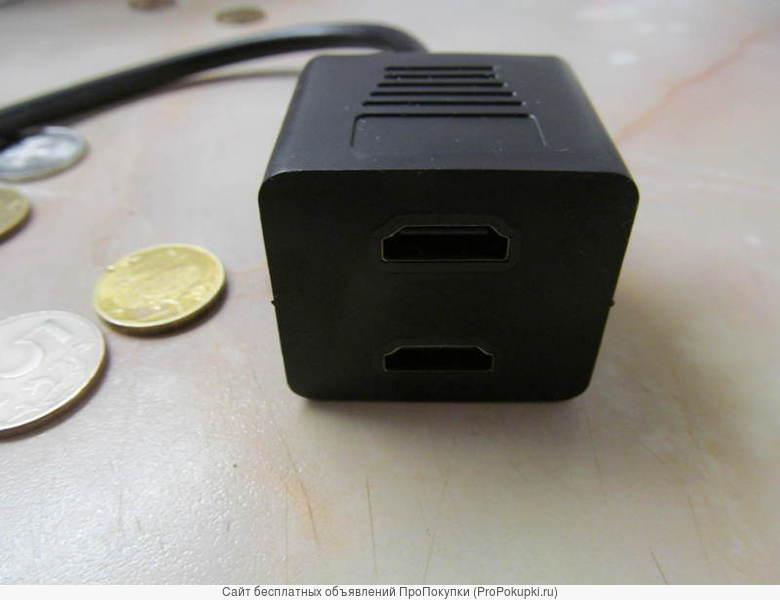 Аренда, прокат в Томске: HDMI распределитель сигнала 1 вход - 2 выхода