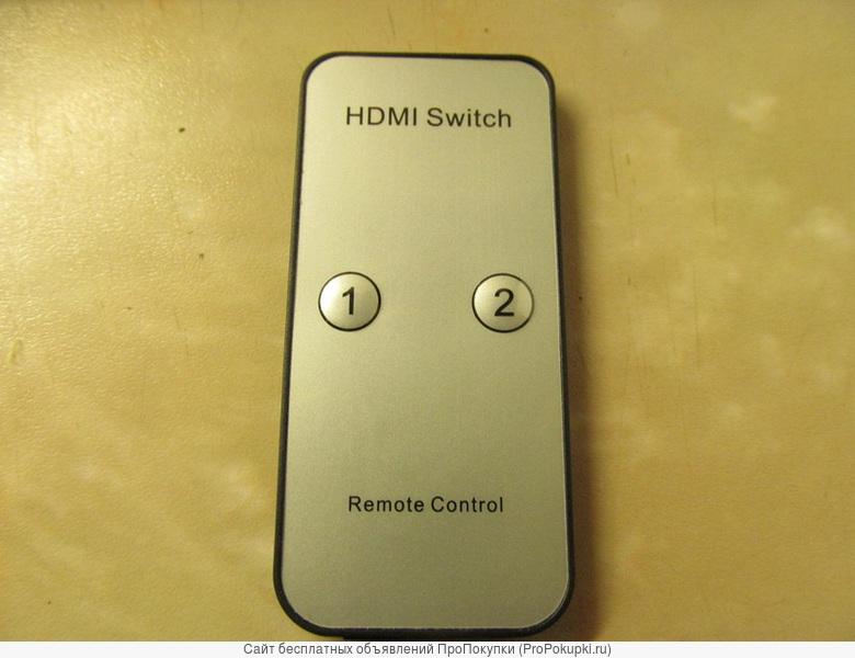3D Матричный коммутатор HDMI 2х8: 2 входа, 8 выходов