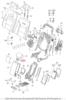 Клавиша заднего подлокотника Audi A8/S8 новая ориг