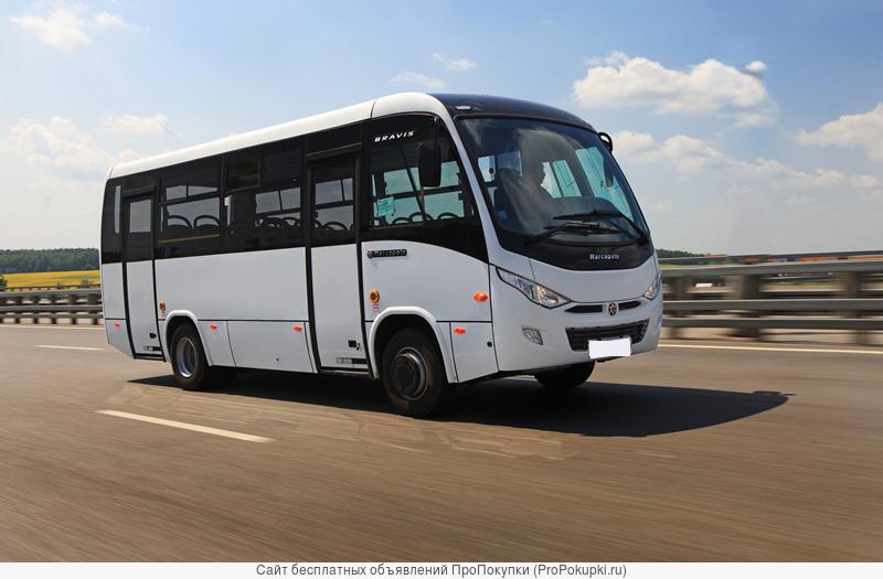 Малый городской автобус bravis 50+1 мест