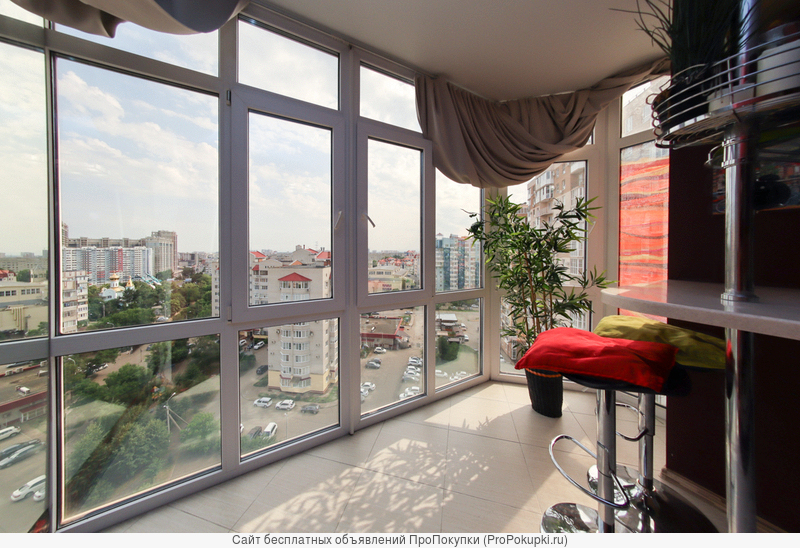 Видовая 2-комнатная квартира в ФМР. Хороший ремонт