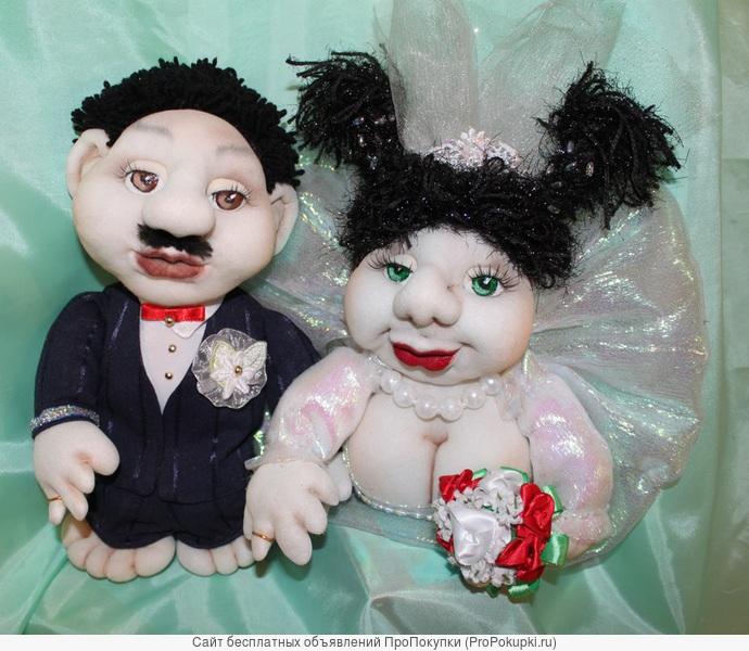 Куклы-попик на удачу ручной работы