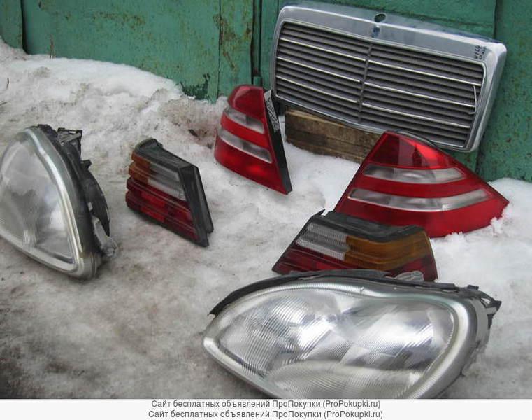 Передние фары для Мерседес W220 старого образца