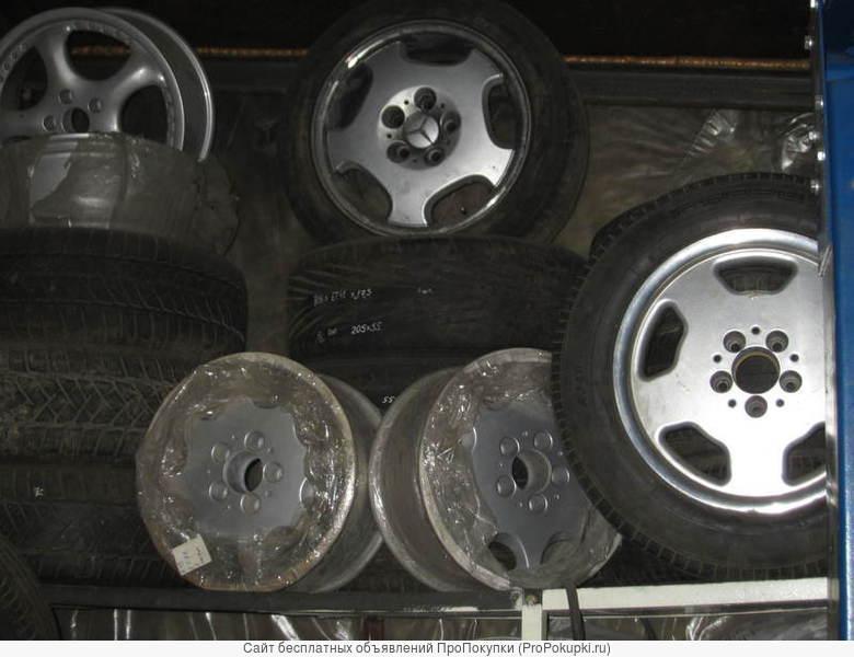 Литые диски R16 х 5-ть на 112 -_4шт. для Мерседес W210