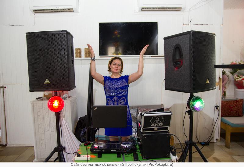 Ди-джей (DJ) со своей аппаратурой на Свадьбу, корпоратив, юбилей